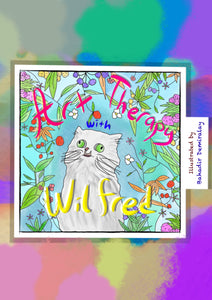 """Art Therapy with Wilfred"" Coloring Book (JPG for digital devices)"