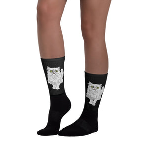 Wilfred Warrior Meme Socks