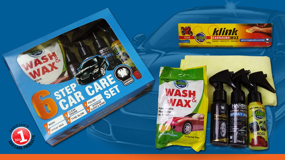 Harris 6 Step Car Care