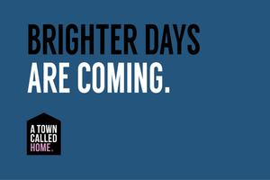 Brighter days are coming