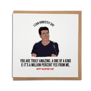 simon cowell x factor judge positive reaction funny valentines card
