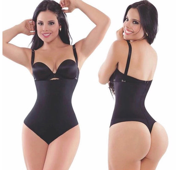 Latex Shaper Bodysuit Thong for Women (Firm Control)