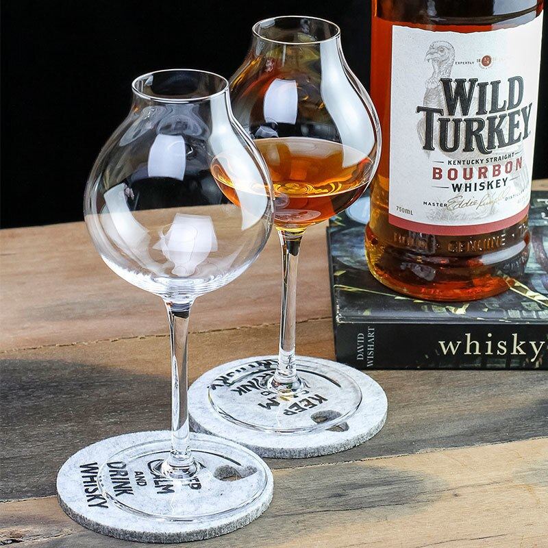 1920s Professional Blender's Whiskey Copita Nosing GlassTulip Bud Whisky Crystal XO Chivas Regal Goblet Cup Wine Tasting Glasses