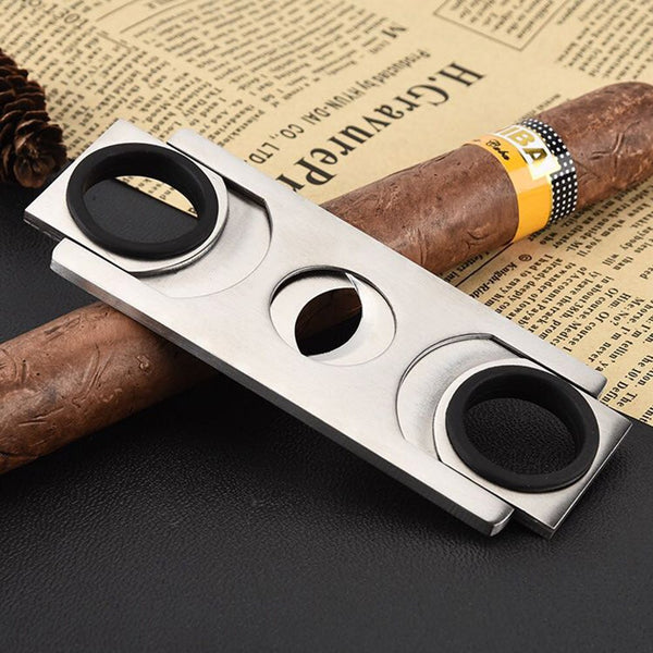 1pcs Cohiba Square Guillotine Cigar Cutter Stainless Steel Knife Cigar scissors ,cigar accessories Cuba c431