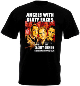 Angels With Dirty Faces Movie Poster Men Tshirts Hip Hop Clothing Tshirt Gym King Tee Shirt Black Of White T-Shirts Mens Top