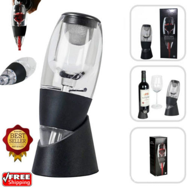 France Wine Aerator Decanter Set Fast Aeration Wine Pourer Magic Decanter for Family Party Hotel