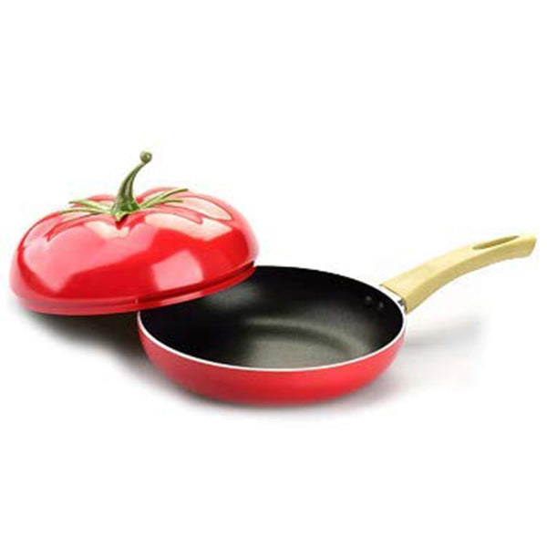 Fruit Pan Cooking Pot Color Grill Pan Induction Cooker Gas Aluminum alloy Cookware