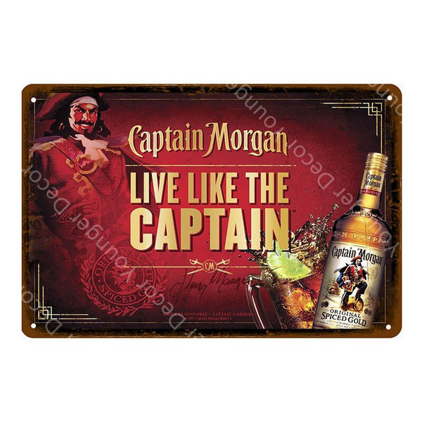 Man Cave Decor Beer Metal Signs Vintage Plaque Whiskey Wall Poster For Bar Pub Club Advertising Wall Decorative Plates YJ121
