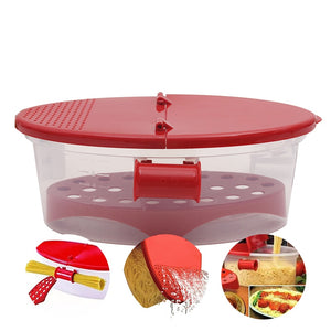Pasta Box Oven Microwave Spaghetti Noodles Box Eco-friendly Boat Bowl Food Container PP Pasta Maker Noodle Box Kitchen Tools