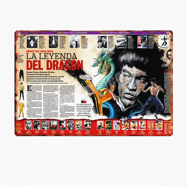 Retro Movie Clip Tin Signs Plate Music Film Posters Art Cafe Bar Vintage Metal Painting Wall Plaque Home Decor 20x30cm A127