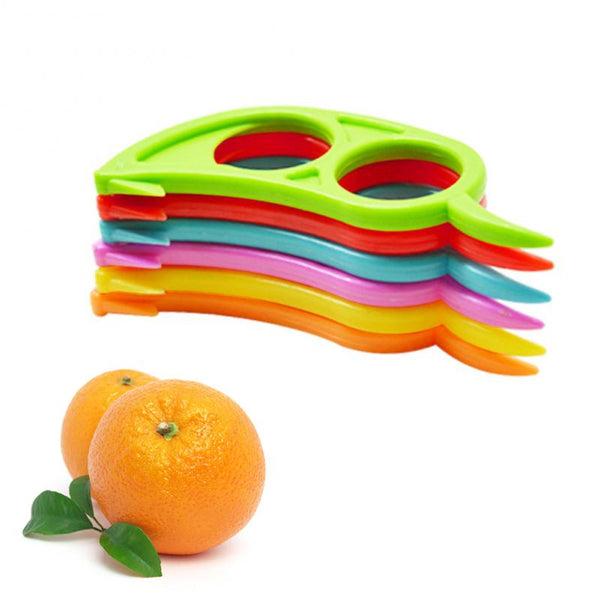 Safe Durable Orange Plastic Easy Slicer Peeler Remover Opener Kitchen Accessories Knife Cooking Tool Kitchen Gadget  Tool