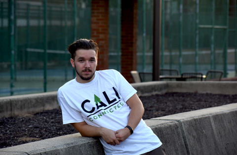 CaliConnected Smoke Shop White Cotton Tee