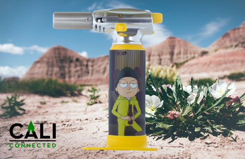 Limited Edition Rick & Morty Torch by ErrlyBird Torch Art at your favorite online headshop CaliConnected