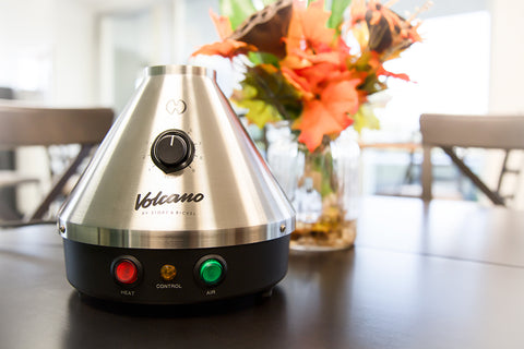 The Volcano Classic Dry Herb & Wax Vaporizer by Storz & Bickel - Dual Compatible Desktop Vaporizer with balloon bag by Storz & Bickel at CaliConnected Online Headshop