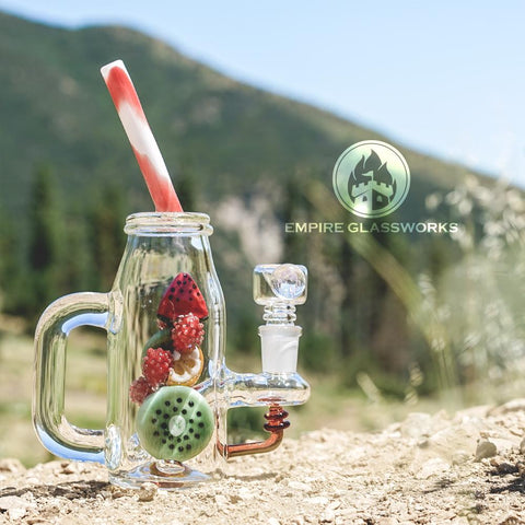 Empire Glassworks Fruit Detox Drink Bong