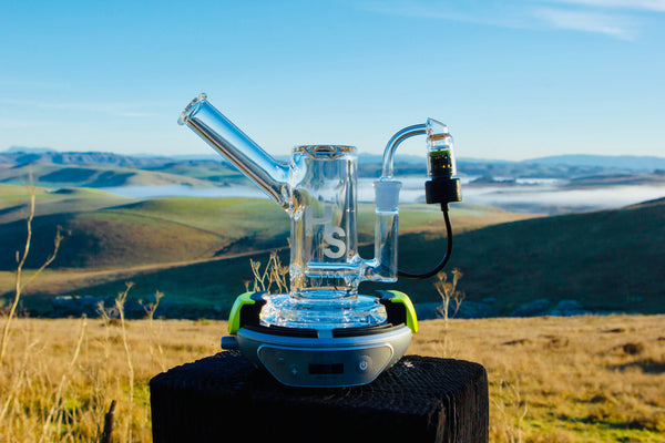 Hyer Big-E Vape Nail with Higher Standards Dab Rig
