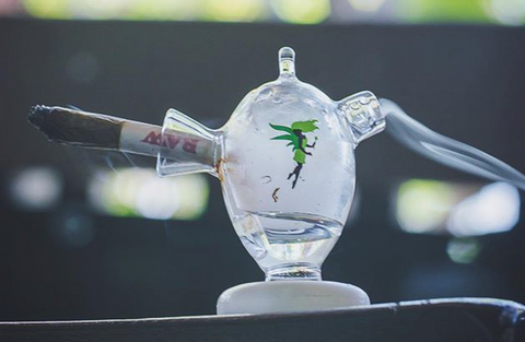 MJ Arsenal Martian - mini Blunt and Joint Bubbler water pipe at CaliConnected Online Headshop