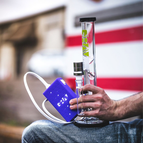 Grav Fire Button Portable E-Nail Rig
