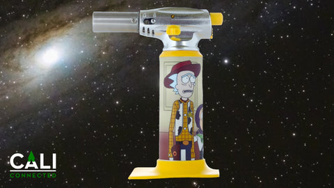 Limited Edition Rick & Morty Torch (Rick Story) by ErrlyBird Torch Art at CaliConnected online headshop