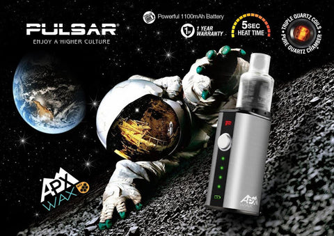 Pulsar APX wax handheld Vape, affordable vaporizers and quality glass bongs at the best online headshop - CaliConnected