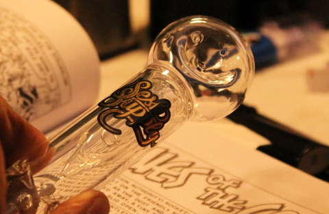 Sesh Supply Theseus Glass Chubbler Pipe