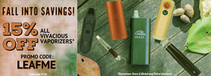 Shop 15% OFF All Vaporizers