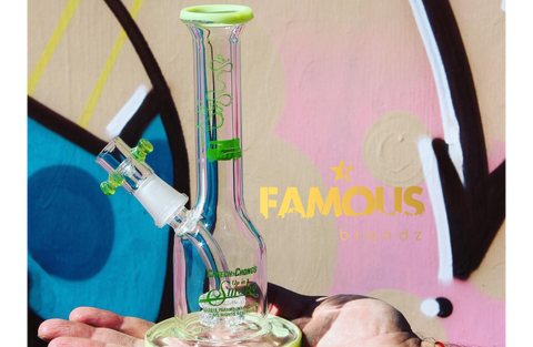 Famous Brandz Cheech & Chong Jade East Dab Rig at CaliConnected Online Headshop
