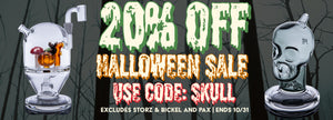 CaliConnected Online Headshop Halloween Sale!