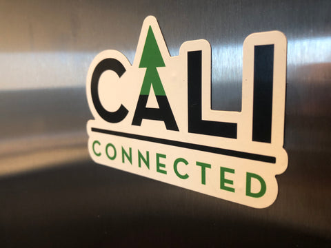 CaliConnected Online Headshop Magnet