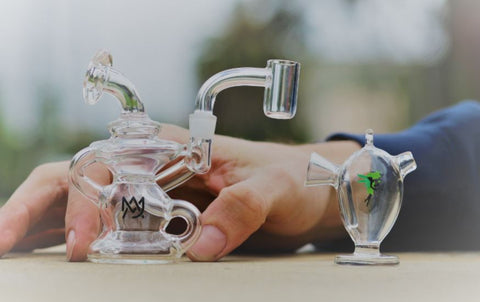 MJ Arsenal Hyrda Mini Dab Rig