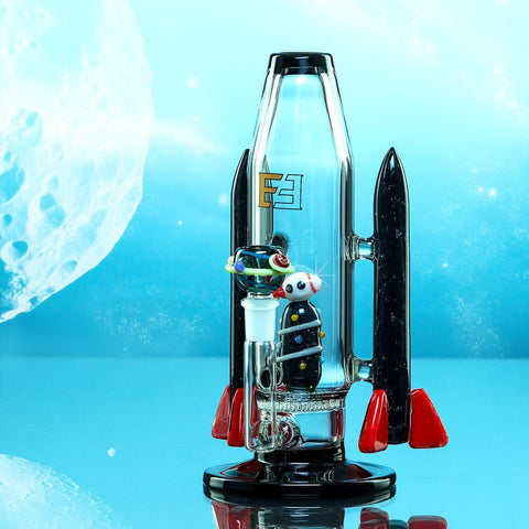 Empire Glassworks Galactic Flagship Water Pipe