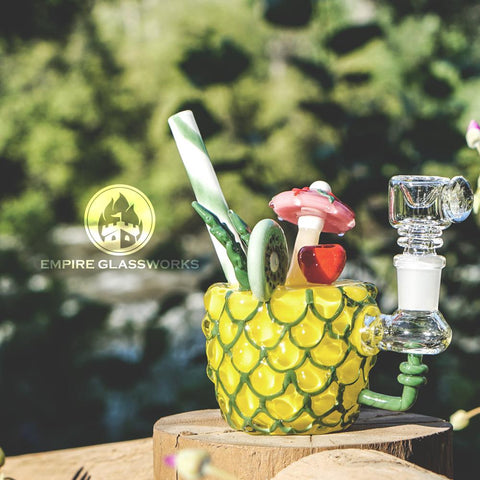 Empire Glassworks Pineapple Paradise Mini Bong