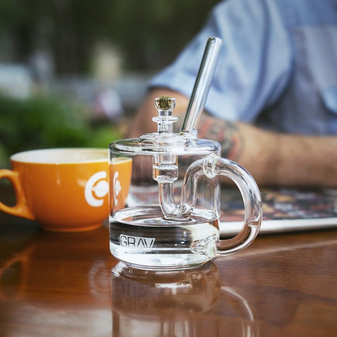 GRAV Coffee Mug Water Pipe