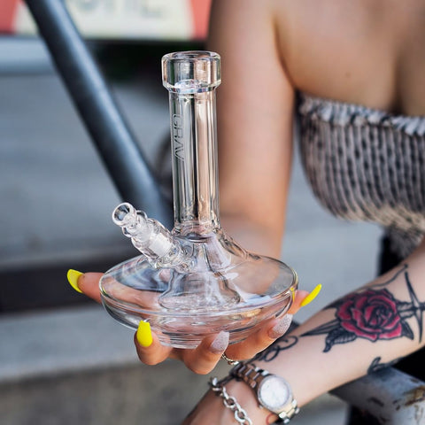 Grav Extra Wide Base Water Pipe
