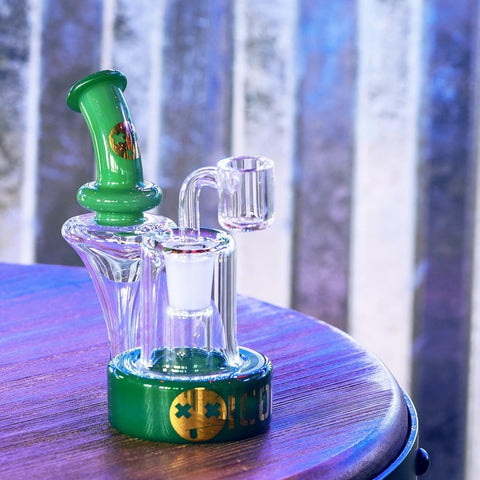 Icon Glass Nano Recycler Dab Rig