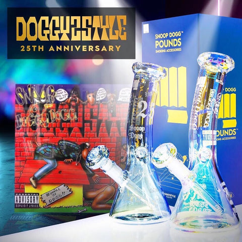 Doggystyle 25th Anniversary Water Pipe