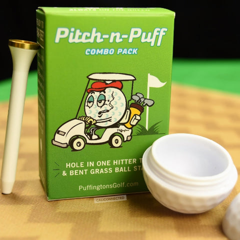 Puffingtons Golf Pitch-N-Puff Combo Pack