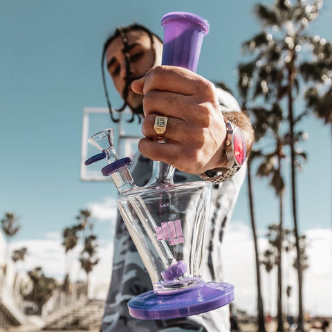 Snoop Dogg Pounds Purple LAX Bong