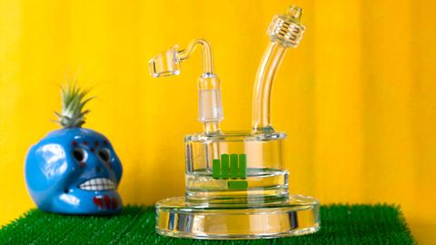 Snoop Dogg Pounds Spaceship Dab Rig
