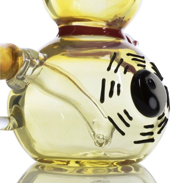 "Empire Glassworks ""The Great Gourd"" - Fumed Glass Mini Bong"