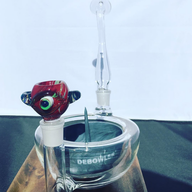 The Breakfast Bowl Wake & Bake Water Pipe + Cyclops Bowl