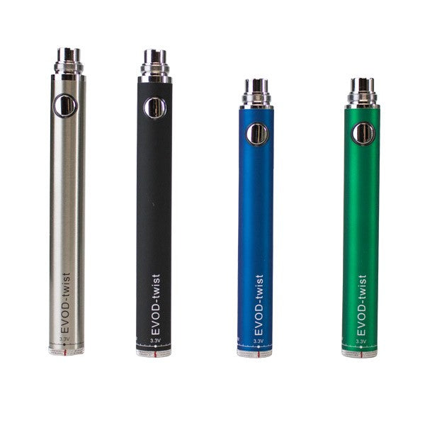 EVOD Twist VV - 900mAh Vape Pen Battery🔋