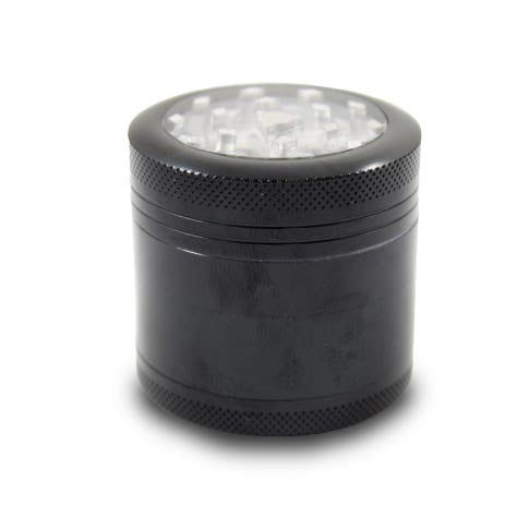 Small 4-Piece Clear Top Grinder, CaliConnected Online Smoke Shop