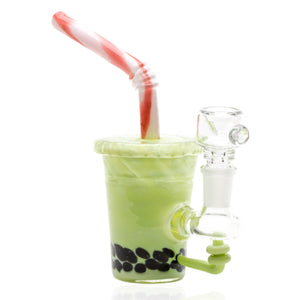 "Empire Glassworks ""Fruity Boba"" Mini Rig Water Pipe"