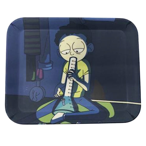 "Rick & Morty Limited Edition ""Mini Morbid"" Rolling Tray"