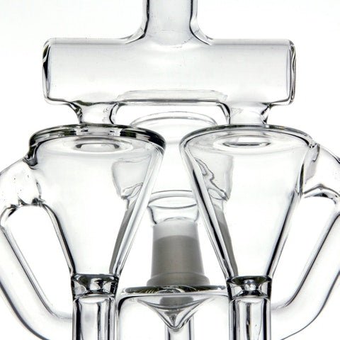 The Twincycler - Double Chambered Dual Recycler, CaliConnected Online Smoke Shop