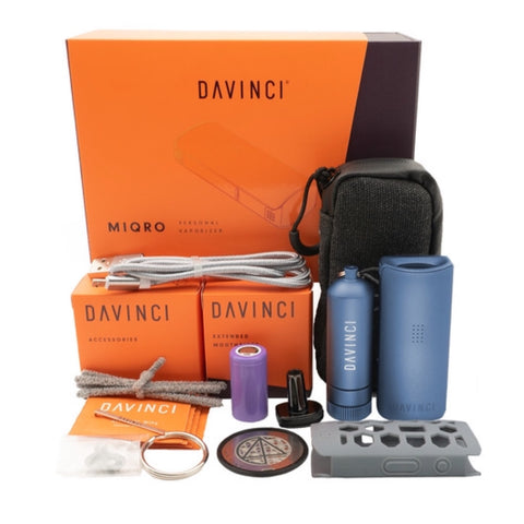 DaVinci MIQRO Dry Herb Vaporizer - Explorer's Edition 🌿, CaliConnected Online Smoke Shop