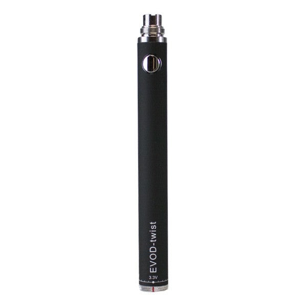 EVOD Twist VV Battery - 900mAh - Affordable vaporizers and quality glass bongs, water pipes, & dab rigs at the best online headshop - CaliConnected