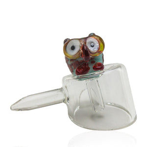 Empire Glassworks Baby Owl Carb Cap 🦉