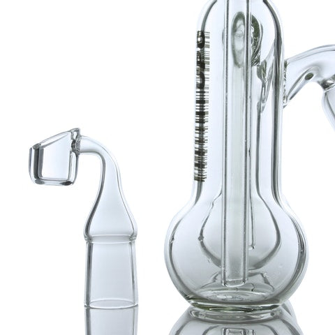 UPC Quadruple Bubbler Dab Rig - 50mm x 5mm - Affordable vaporizers and quality glass bongs, water pipes, dab rigs and more at the best online headshop - CaliConnected